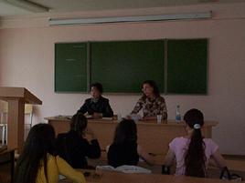 加藤さんの授業風景