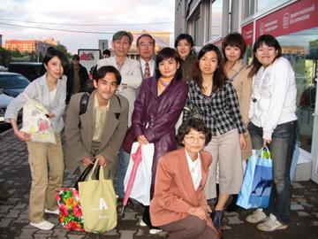 ノボシビルスクで、日本語教師のみなさんと