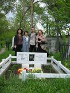 松下朗さんのお墓で